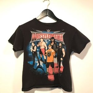 Vintage WrestleMania Black T-Shirt 🖤